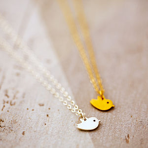 Tiny Bird Necklace