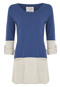 Take On Me Cotton Cashmere Tunic - jumpers & cardigans