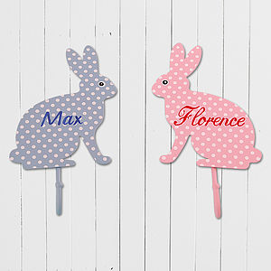 Personalised Bunny Coat Hook - kitchen accessories