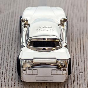 Personalised Sports Car Money Box - shop by price