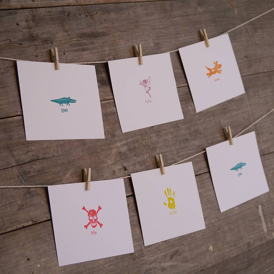 Personalised Child S Stamp By English Stamp Company