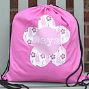 Girl's Personalised Kit Bag Various Designs