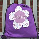 Girl's Personalised Kit Bag