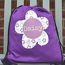 Girl's Personalised Kit Bag