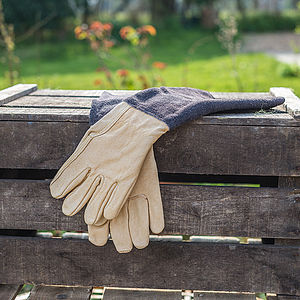 Ladies Gardening Gauntlet Gloves - gardenwear