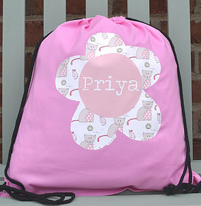 Girl's Personalised Kit Bag - bags, purses & wallets