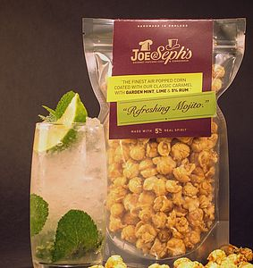 Alcohol Flavoured Popcorn - on trend: experience food & drink