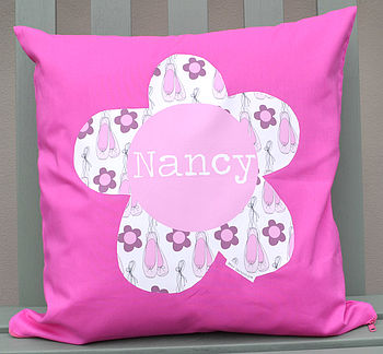 Girl's Personalised Cushion