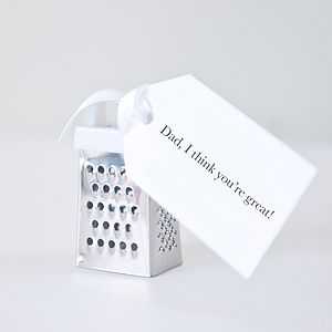 You're Great Father's Day Mini Grater - living & decorating