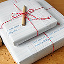 Interactive Wrapping Paper