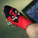 Mr. Zukkato Vampire Socks