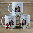 Personalised Super Mum Mug