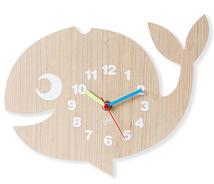 Whale Wall Clock - clocks