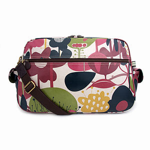 Wild Floral Baby Changing Bag - baby changing