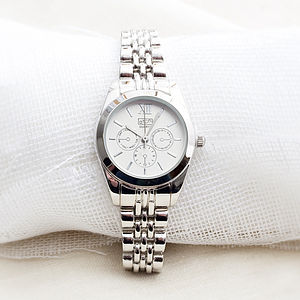 Laurene Silver Ladies Watch