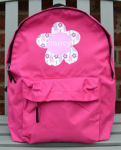 Girl's Personalised Backpack - children's accessories