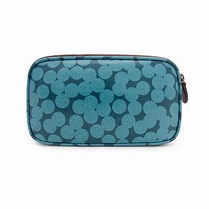 Blue Spot Makeup Bag - bags & purses