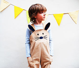 Bunny Rabbit Fancy Dress - babies' dungarees