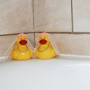 Mrs And Mrs Rubber Ducks - last-minute gifts