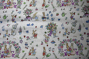 Bunny Linen Fabric By The Metre