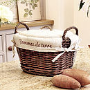 French Potato Basket With Lid