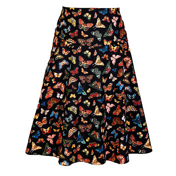 Bow skirt in Lepiodtera fabric