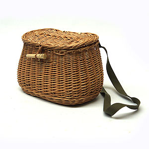Wicker Fishing Creel