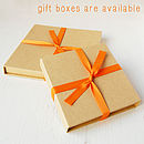 Gift Boxes Are Available