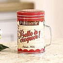 Patisserie Flour And Sugar Shaker