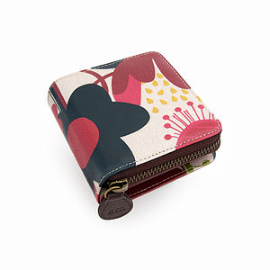 Wild Floral Wallet - bags & purses