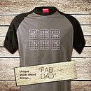 Fab Dad 'Chords' T Shirt