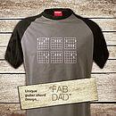 Fab Dad 'Chords' T Shirt
