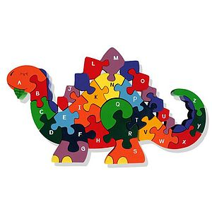Alphabet Puzzle Educational Toy - traditional toys & games