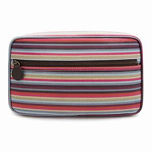 Stripe Box Wash Bag