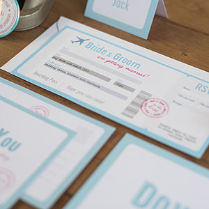 20 Dover Wedding Invitations - save the date cards