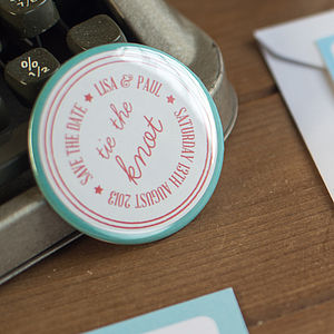 Set Of 10 Save The Date Magnets