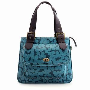 Blue Spot Handbag