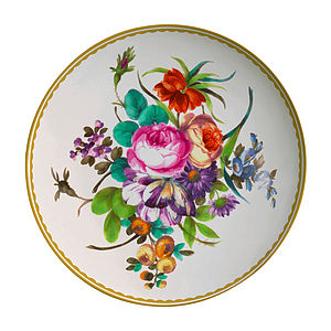 Antique Design Melamine Plates - plates