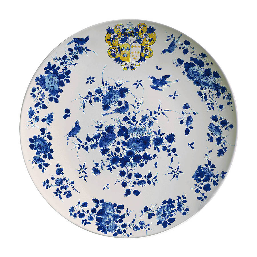 Antique Design Melamine Plates  sc 1 st  Notonthehighstreet.com & antique design melamine plates by bonnie and bell ...