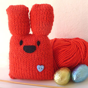 Personalised Bunny Knit Kit - toys & games