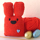 Personalised Bunny Knitting Kit