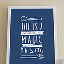 Pasta Kitchen Print