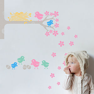 Easter And Spring Wall Sticker Pack
