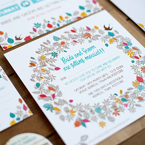 20 Henley Wedding Invitations - invitations