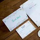 Contemporary Wedding Stationery Henley Invite Blossom