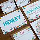 Contemporary Wedding Stationery Henley Invite Maple
