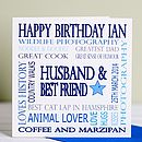Personalised Special Age Male Birthday Card