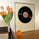 Your Favourite Album Framed: Original Vinyl Record