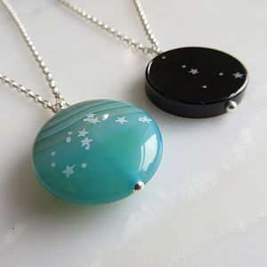 Star Sign Constellation Necklace - necklaces & pendants