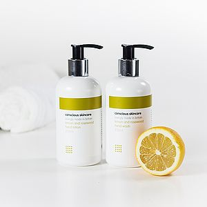 Lemon And Rosewood Hand Lotion - men's grooming & toiletries